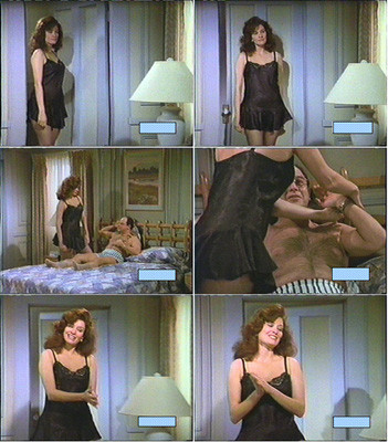 "Collage zu der ""Seinfeld"" Folge, worin sie eine Gastrolle spielte) / Collage to the ""Seinfeld"" episode in which she played a guest role)"
