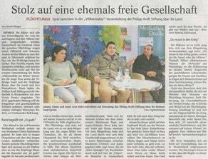 28.04.2016 Rheingau Echo Völkermühleveranstaltung zu Syrien
