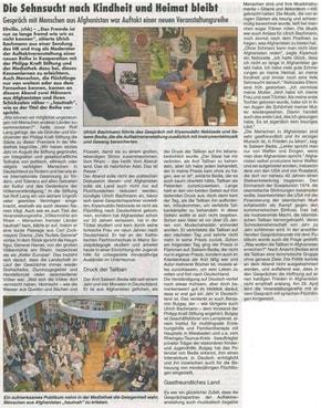 31.03.2016 Rheingau Echo Völkermühleveranstaltung zu Afghanistan