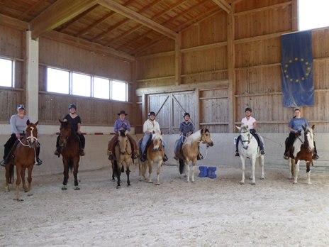 Horsemanship- /Cowboy Dressage Kurse auf der Reitsportanlage Frank in Hebertsham, Eiselfing (Bayern)