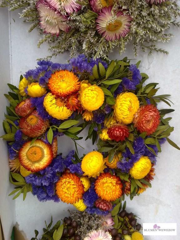 Sommerblumen Heidelberg - Trockenblumen