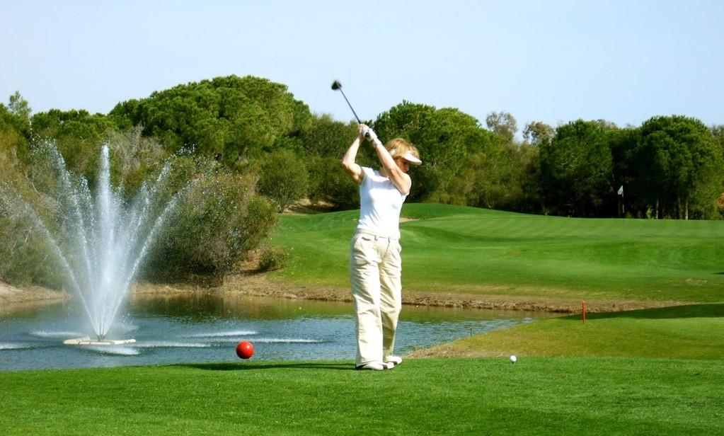Tat-Golf, Par 3, Bahn 16