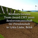 Team-Award 2010 auf der CMT, Stuttgart. Gewinn = eine Woche mit der Seniorenmannschaft in Lykia Links, Belek. Golf-Club Freudenstadt. Foto Rainer Sturm stormpic.de