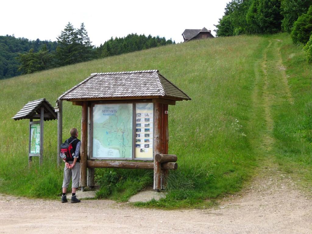 Kurz vor dem Haldenhof