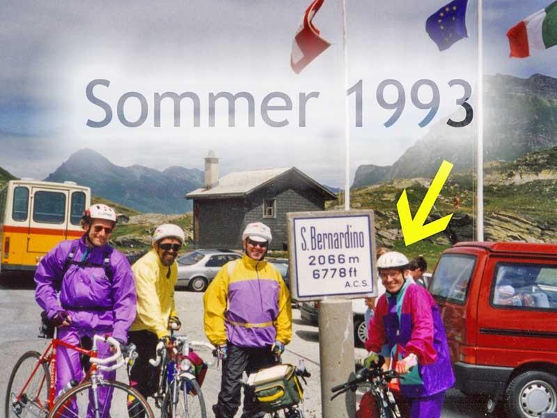 Alpen-Überquerung 1993
