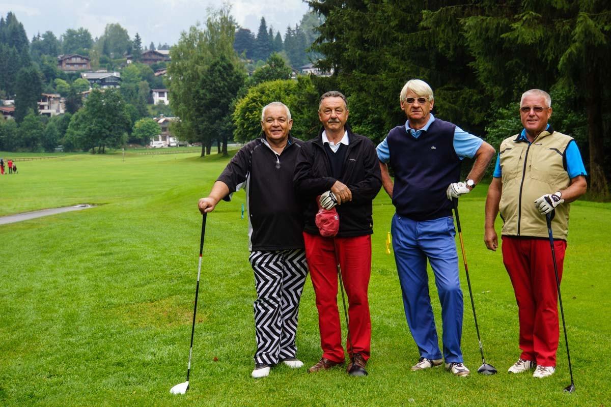 1. Flight mit Bernd, Hans-Jörg, Uli, Horst