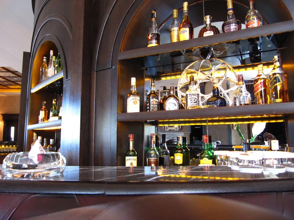 The Montgomerie, Bar im Clubhaus