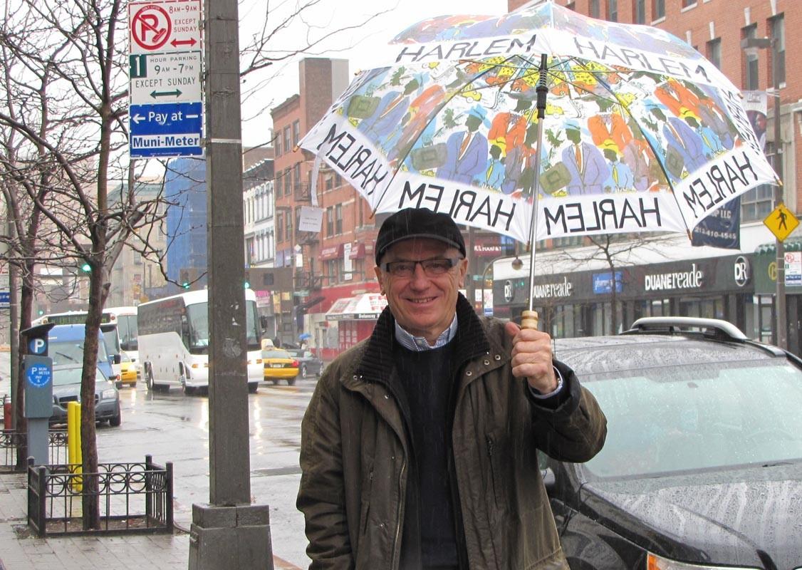 Harlem-Schirm musste sein