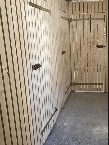 Nachher - MADEJA e.K. nach der Schimmelsanierung erfolgt neue Kellerverlattung