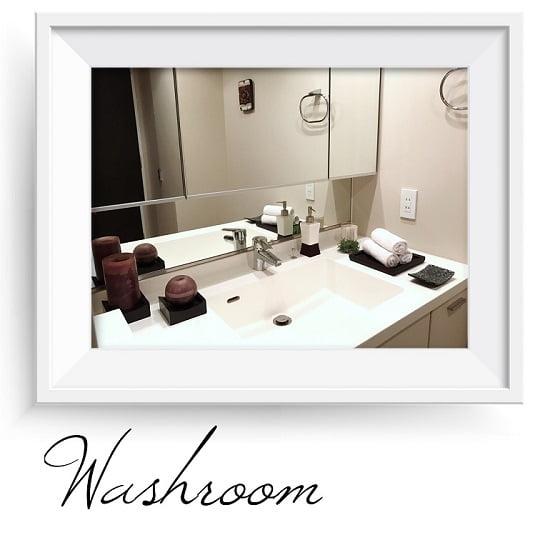柏市柏アロマ&リンパドレナージュサロン max day spaのサロン店内写真・洗面