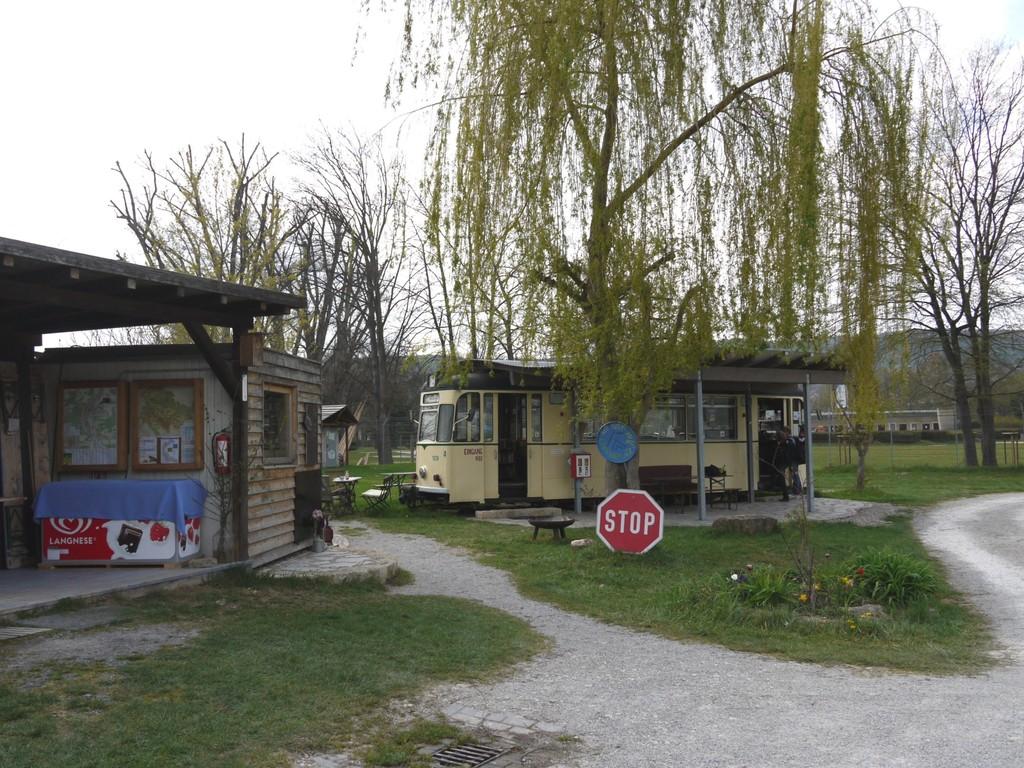 Campingplatz Rezeption