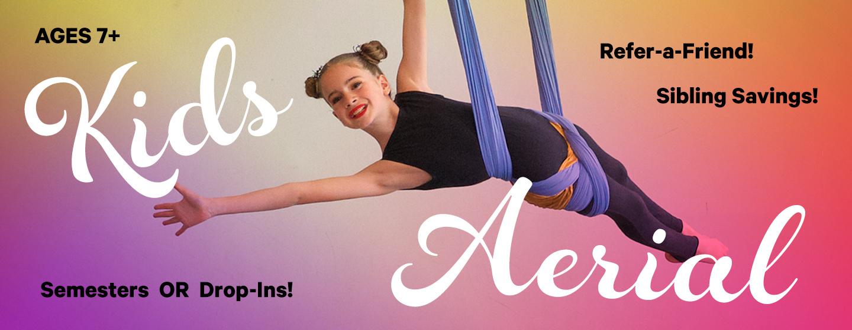 Kids Aerial Yoga - Yoga / Aerial / Circus / NYC