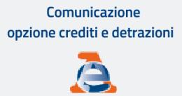 cessione del credito e sconto in fattura, comunicazione ADE
