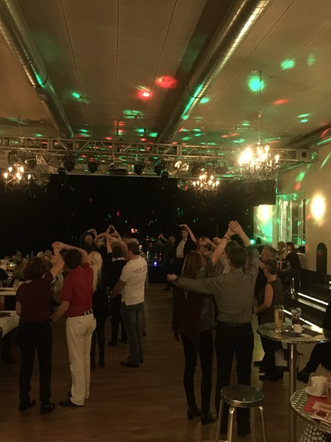 Besuch am Ballroomdancing im Chillout