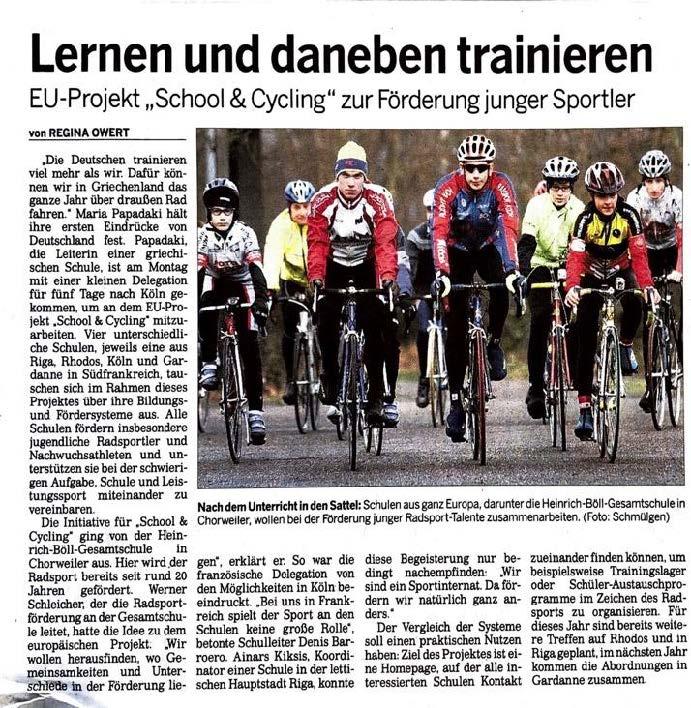 Kölnische Rundschau 10.01.2008
