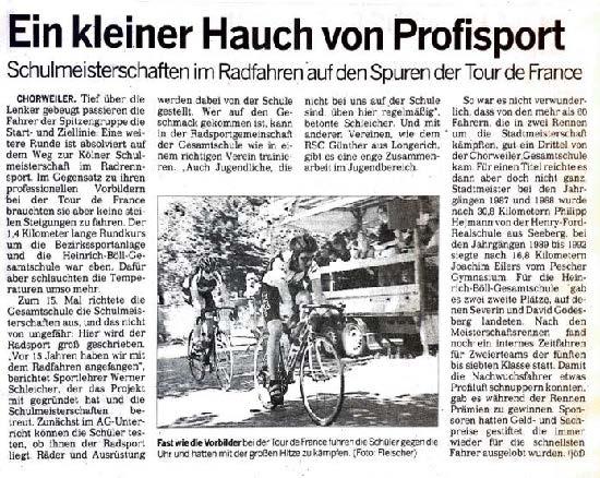 Kölnische Rundschau 19.07.2003