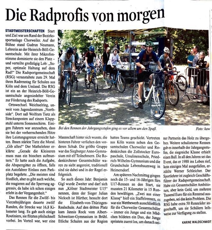 Kölnische Rundschau 12.06.2012