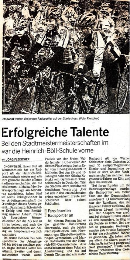 Kölnische Rundschau 08.06.2006