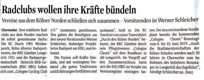 Kölner Stadt-Anzeiger – 13.12.2018