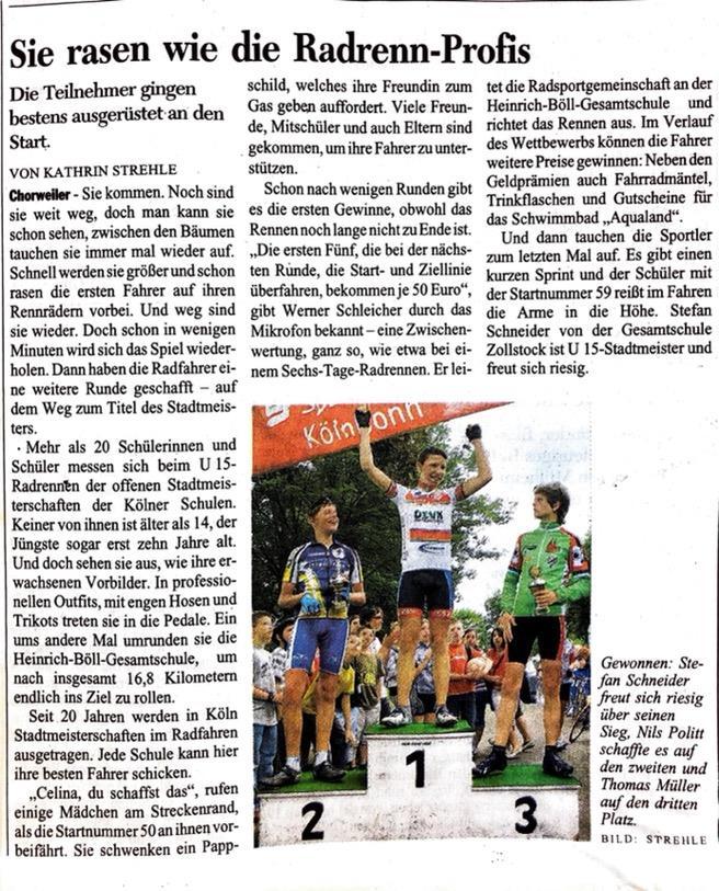 Kölner Stadt Anzeiger Nr. 139 17. 06. 2008