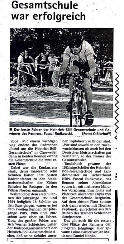Kölner Wochenspiegel 16.06.1999