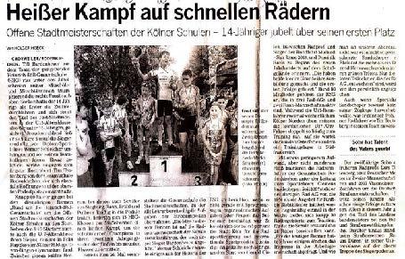 Kölnische Rundschau 10.06.2014