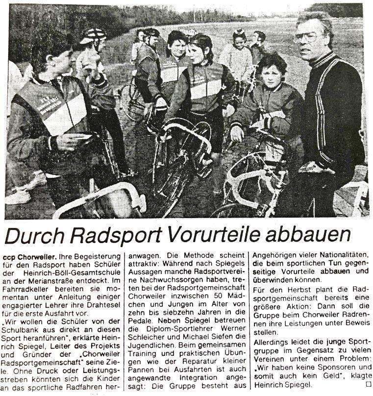 Kölnische Rundschau vom 03.05.1989