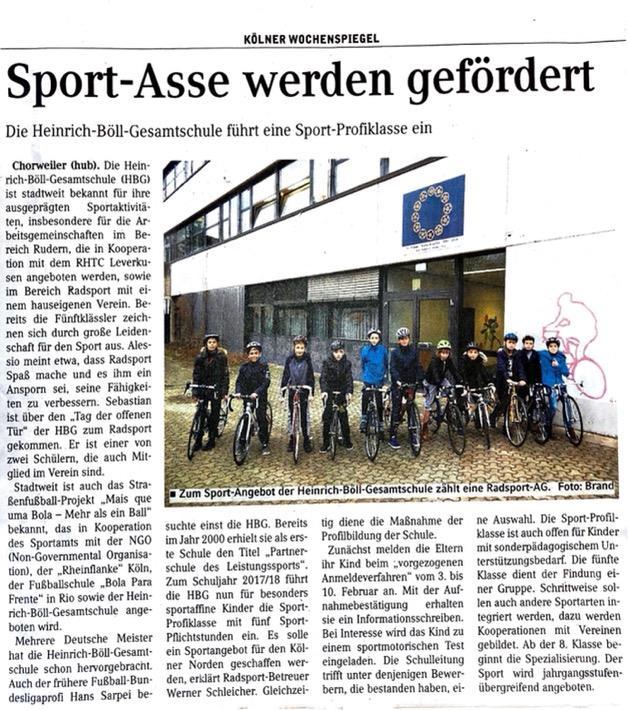 Kölner Wochenspiegel 18.01.2017