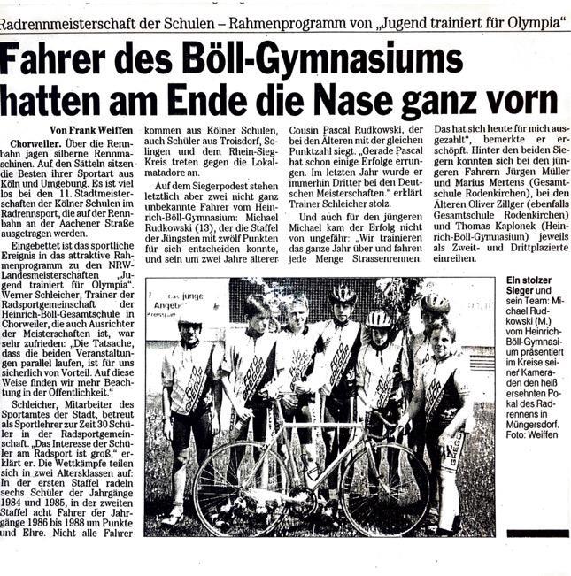 Kölnische Rundschau 30.06.2000