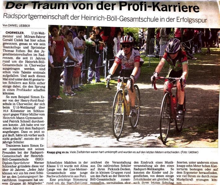 Kölnische Rundschau N r. 142 23. 06. 2009
