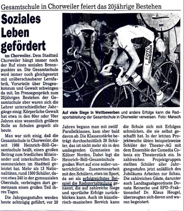 Kölnische Rundschau 12.10.1995