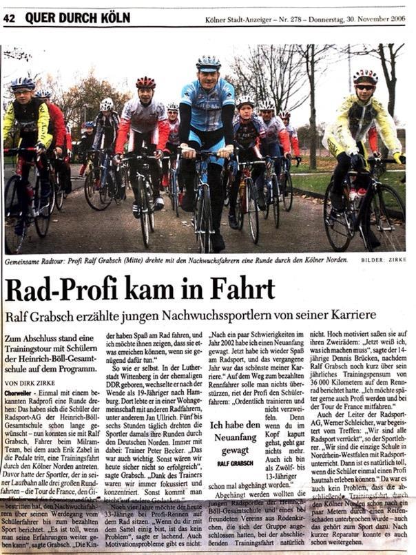 Kölner Stadt Anzeiger Nr. 278 30.11.2006
