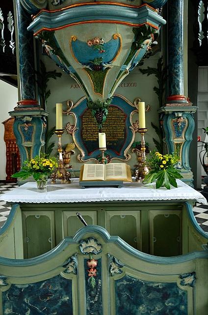 Altar, ev. Kirche Eckenhagen