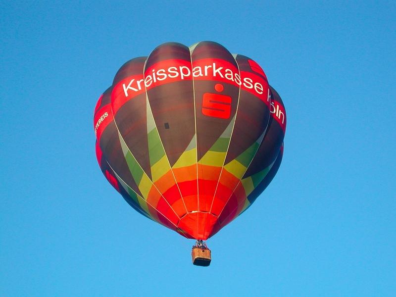 Ballonsport im Bergischen Land