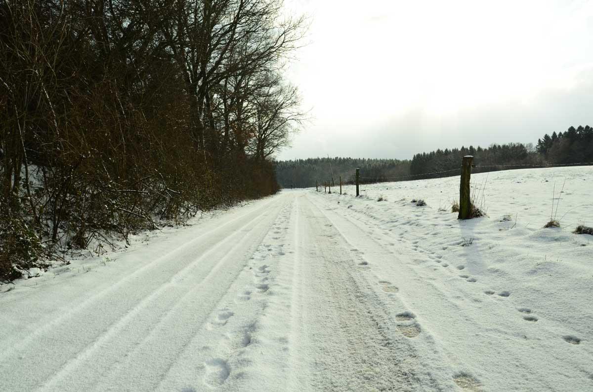 Den Winter an frischer Luft genießen