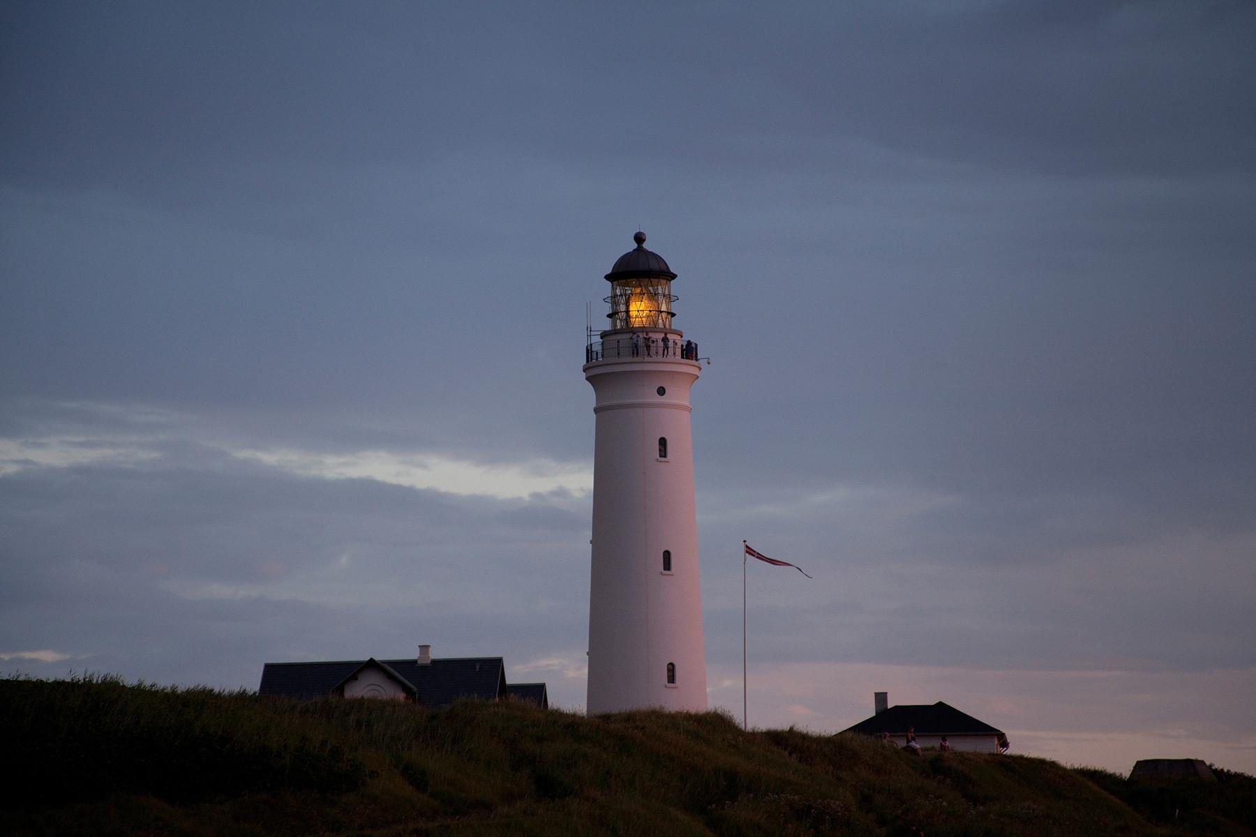 Island 2014 (Dänemark, Hirtshals, Leuchtturm)