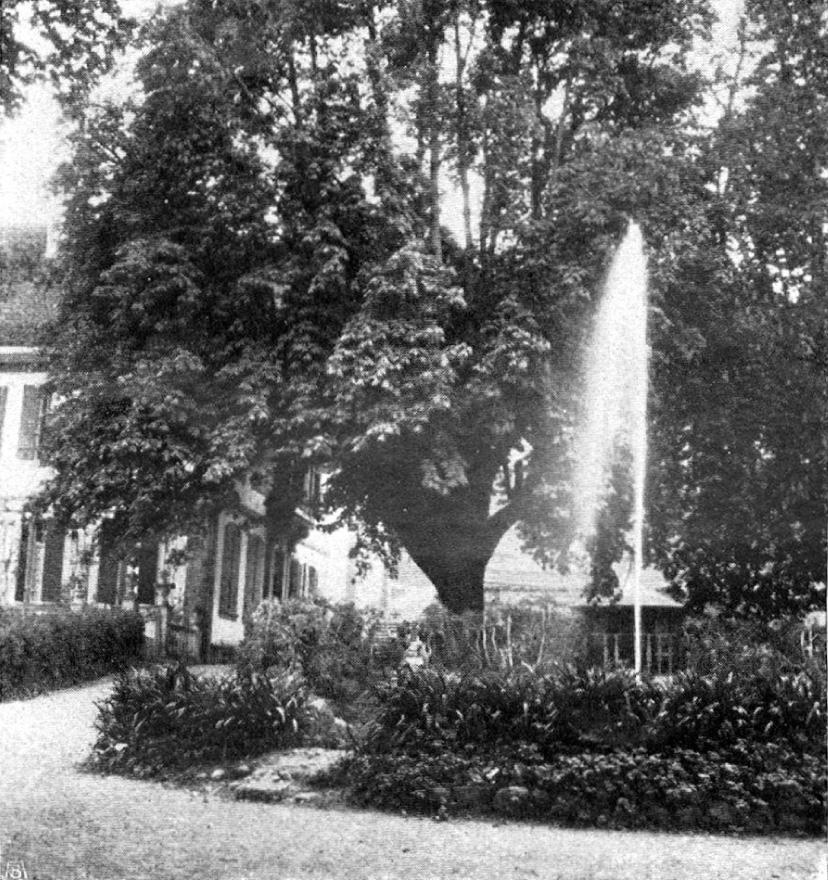 1907, mit Kiosk