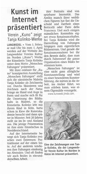 Achimer Kreiszeitung, 26.1.2015