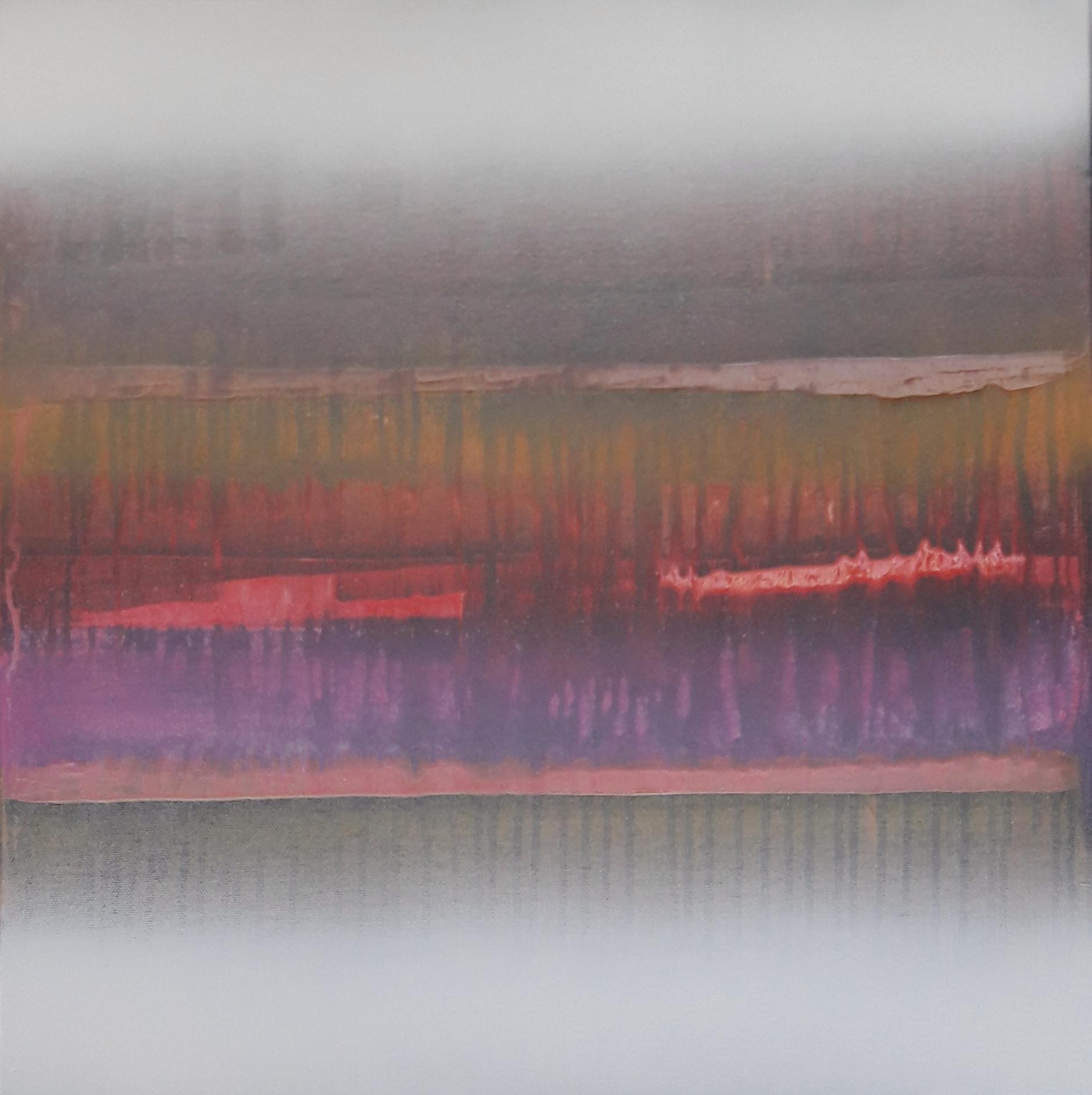 No. 128 Mischtechnik Acryl auf Leinwand 50x50 cm (2018)