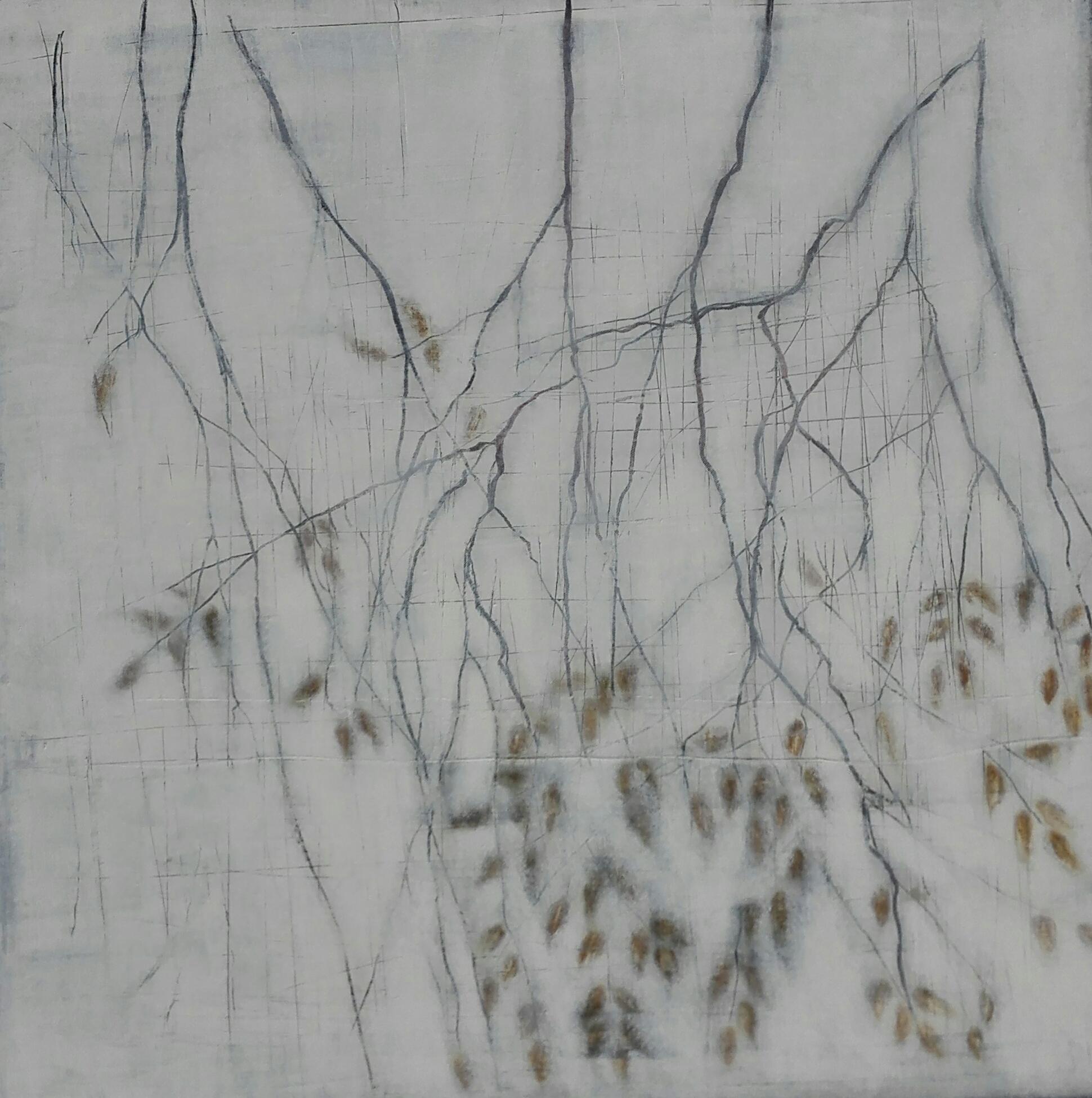 No. 91 - Mischtechnik Acryl auf Leinwand 80x80 cm (2017)
