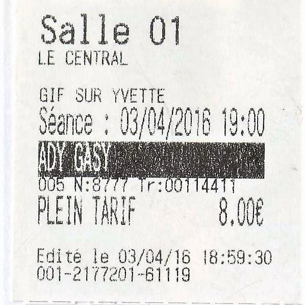 Quand on paye 8€ un billet de cinéma...