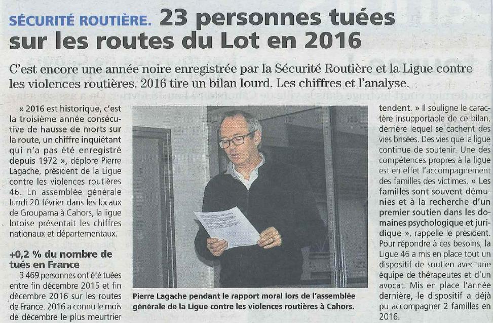 La Vie Quercynoise 24/02/17