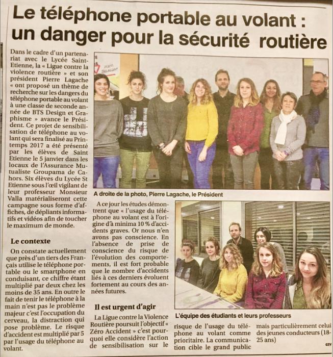 Petit Journal 12/01/2017