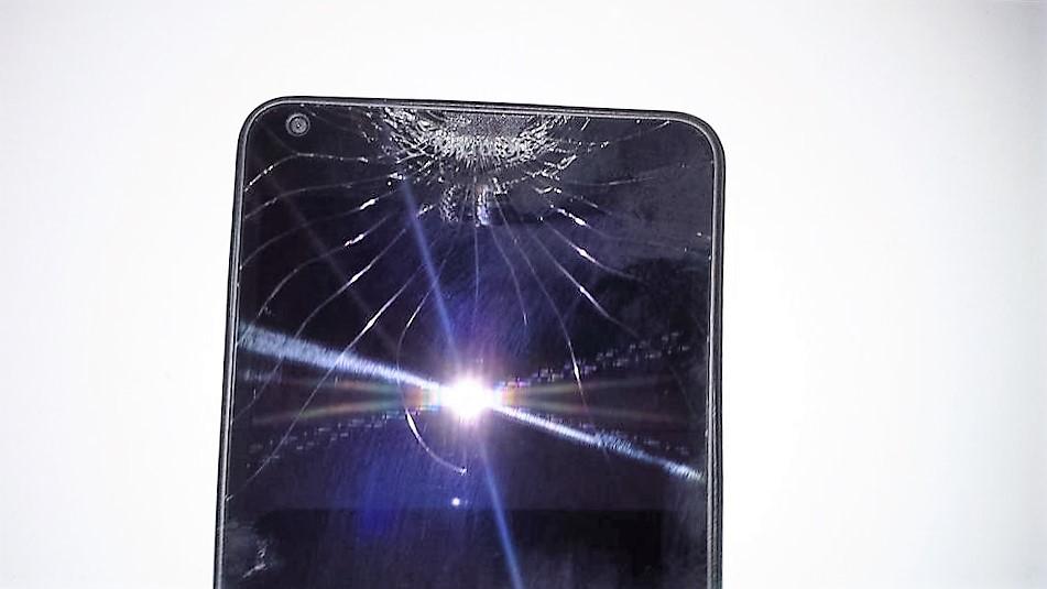 Glas kaputt oder Kamera ohne Funktion?