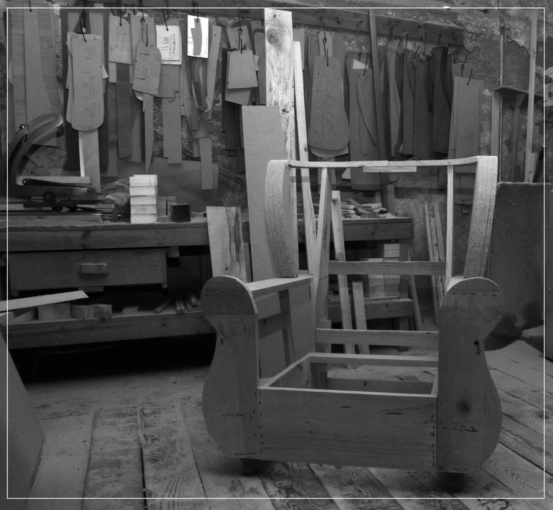 Armazón de butaca - EntreSofas - Sofás a medida en Valladolid