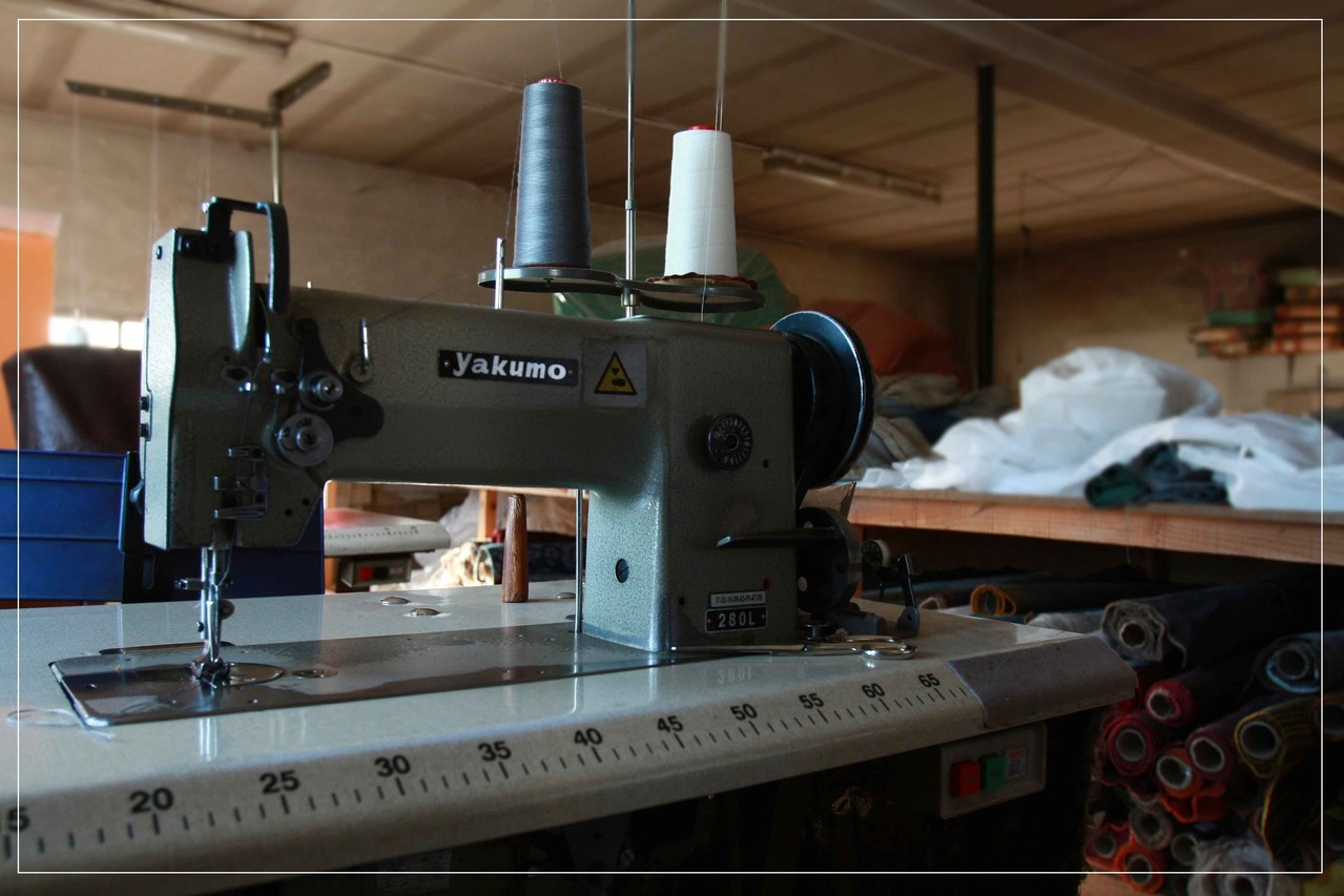 Máquina de coser - EntreSofas - Sofás a medida en Valladolid