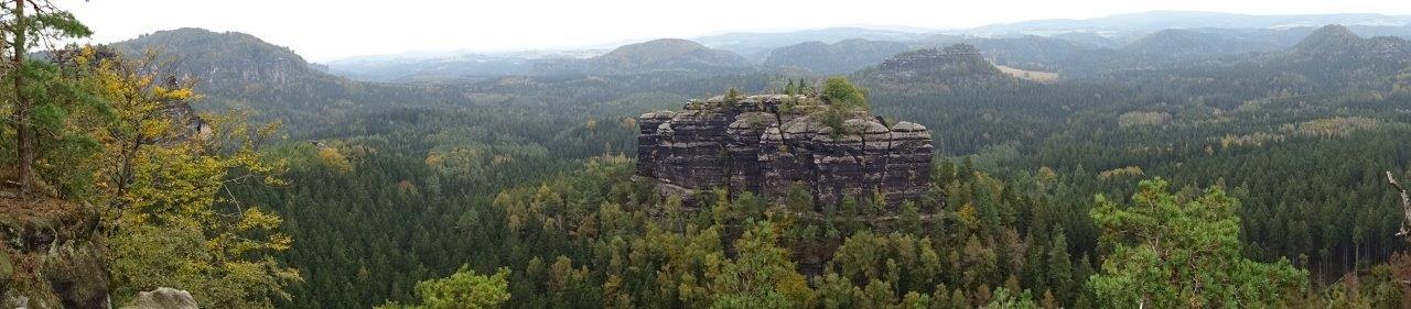 Panorama von der Aussicht