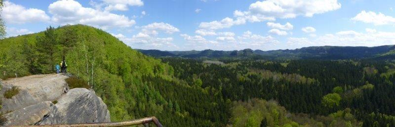 Aussicht vom Neuen Wildenstein