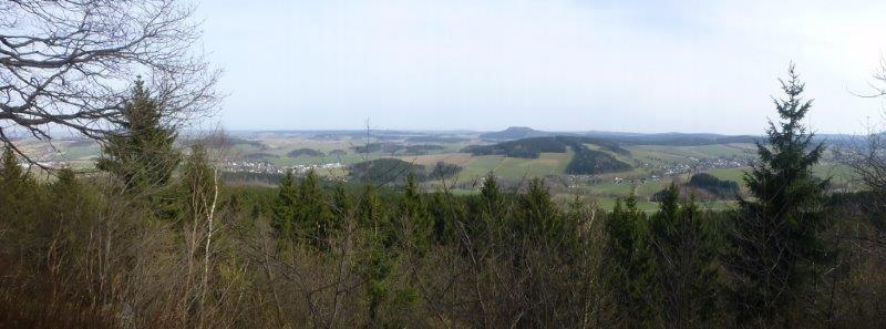 Blick ins Erzgebirge