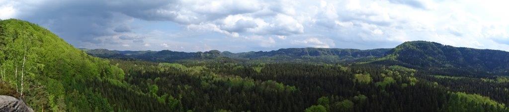 Ausblick vom Kuhstall